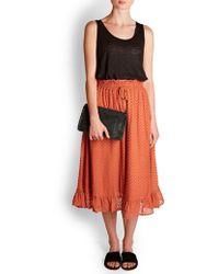 Custommade• - Nif Spot Skirt - Lyst