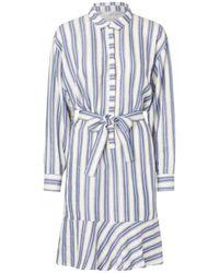 Munthe - Thelma Striped Dress - Lyst