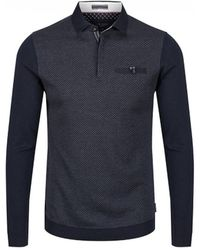 Ted Baker - Friend Ls Polo Shirt - Lyst