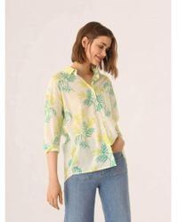 Nice Things - Mimosa Print Shirt - Lyst