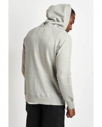 Reigning Champ - Full Zip Hoodie Mid Weight Grey - Lyst