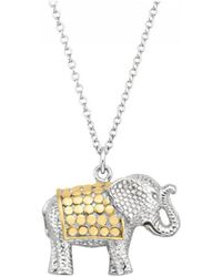 Anna Beck - Elephant Pendant Charity Necklace - Lyst