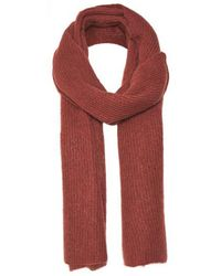 Part Two - Itna Burgundy Scarf - Lyst