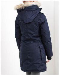 Nobis - Abby Fur Hooded Coat - Lyst
