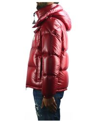 Moncler - Puffer Jacket In Red - Lyst