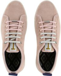 Ted Baker - Men's Kaliix Suede Trainers - Lyst