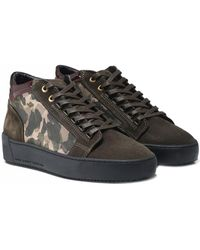 Android Homme - Suede Propulsion Mid Top Trainers - Lyst