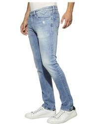 Tommy Hilfiger - Tommy Jeans Slim Scanton Dynamic Alison Light Blue Stretch Jeans - Lyst