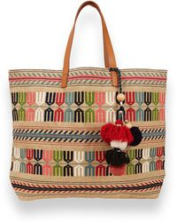 Star Mela - Rumi Embroidered Tote Bag - Lyst