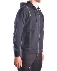 Les Hommes - Men's Urc855auc8509000 Black Cotton Sweatshirt - Lyst
