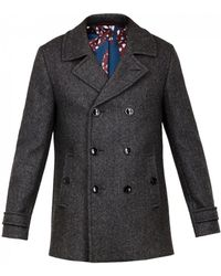 Ted Baker - Grilld Peacoat - Lyst