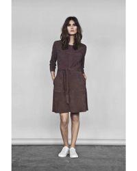 Second Female - Rut Suede Dress - Lyst