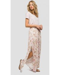 Replay - Floral Print Culottes - Lyst