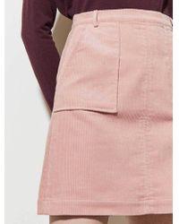 Great Plains - Chunky Cord Skirt - Lyst