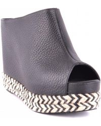 e239ef3ff17 Jeffrey Campbell Besante Woven Wedges in Natural - Lyst