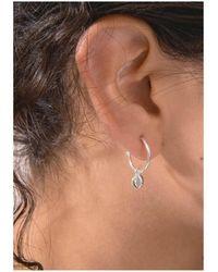 Rachel Jackson - Moon Orb Hoop Earrings - Lyst