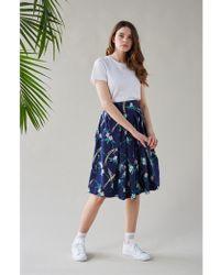 Emily and Fin - Phoebe Hummingbird Full Pleated Skirt - Lyst