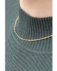 Mirabelle - Tiny Biba Gold Chain Necklace - Lyst