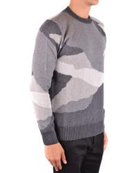 Woolrich - Camouflage Knit Sweater - Lyst
