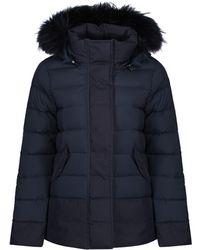 Pyrenex - Women's Halny Contrast Down Jacket With Saga Fur Trim - Lyst