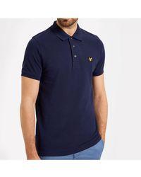 Lyle & Scott - Lyle And Scott Plain Polo Shirt - Lyst