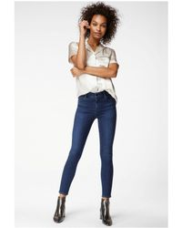 9cdc1e6e J Brand Jeans - Photo Ready Kamila Zip Back Skinny In Crush in Blue - Lyst