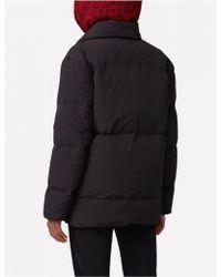 J.Lindeberg - Savannah Vintage Nylon Black Puffer Jacket - Lyst