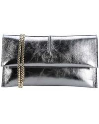 Patrizia Pepe - Clutch In Silver - Lyst