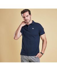 Barbour - Men's Sports Polo Shirt - Lyst
