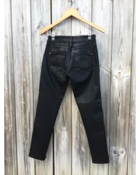 James Jeans - Twiggy Ankle Zip Oil Slicked - Lyst