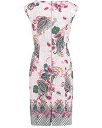 Gerry Weber - Dress Lilac / Pink / Green 180035-38303 - Lyst