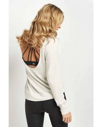 Good Hyouman - The Jules Open Back Pullover - Lyst