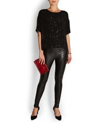Velvet By Graham & Spencer - Velvet Brighton Sequin T-shirt - Lyst