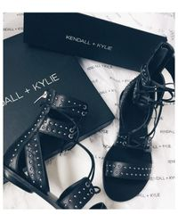 b17b20d9f Lyst - Women s Kendall + Kylie Flat sandals Online Sale