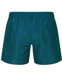 Paul Smith - Men's Swim Shorts In Teal - Lyst