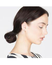 V Jewellery - Eshan Stud Earrings - Lyst