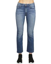 Mother - Bootcut Jeans In Blue - Lyst