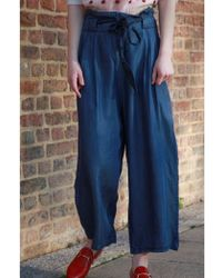 Numph - New Toyon Denim Trousers - Lyst