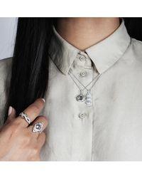 V Jewellery - Triple Drop Pendant - Lyst