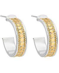 Anna Beck - Hoop Post Earrings - Lyst