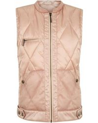INTROPIA - Quilted Lightweight Waistcoat - Lyst
