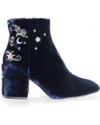 Ash - Velvet Elixir Nadine Ankle Boots - Lyst