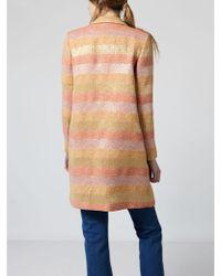 INTROPIA - Hoss 641.04876 Coat In Multicolour - Lyst