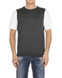 Paolo Pecora - Gilet In Grey - Lyst