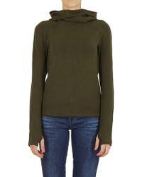 Paco Rabanne - Sweatshirt In Green - Lyst
