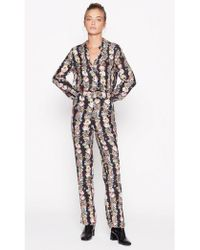 Equipment - Florence Floral Trouser - Lyst
