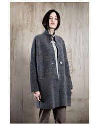 ToneT - Oversized Brown Cardigan/coat 1702766 - Lyst