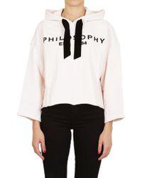 Philosophy - Sweatshirt In Pink - Lyst
