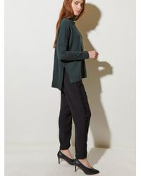 Great Plains - Guernsey Knit In Winter Green - Lyst