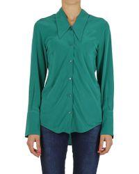 Erika Cavallini Semi Couture - Shirt In Green - Lyst